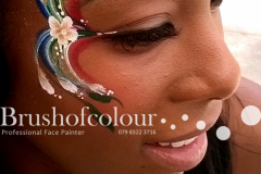pretty-flowers-face-painting