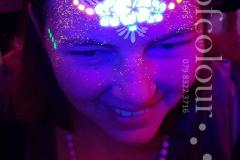UV-neon-flower