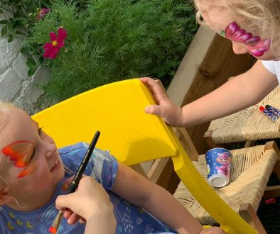 summer face painting